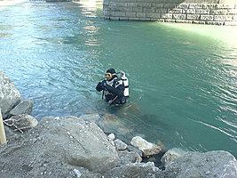 Gewässersondierung