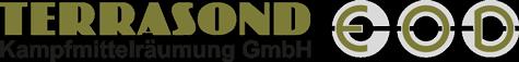Logo Terrasond Kampfmittelräumung GmbH